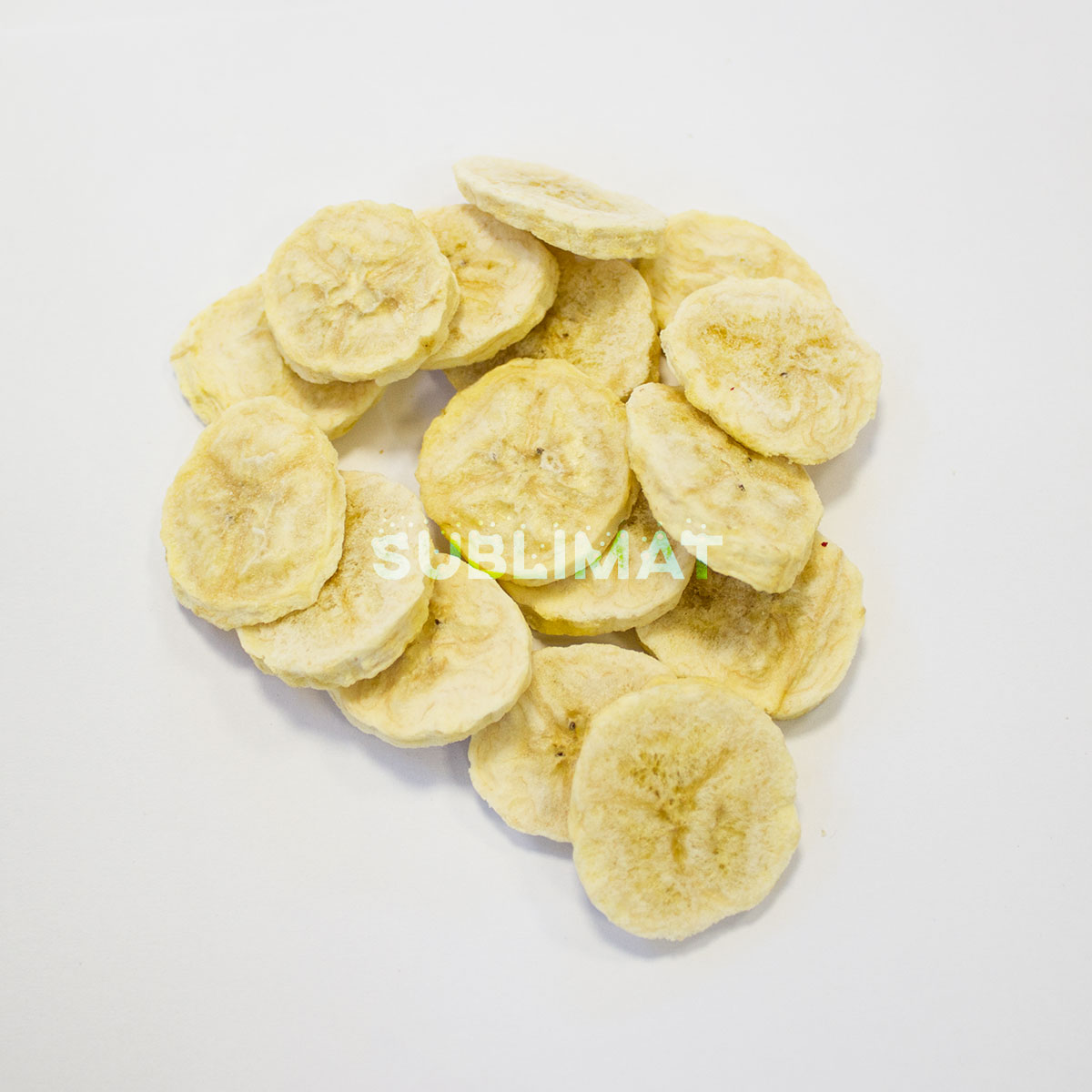 Freeze-dried banana