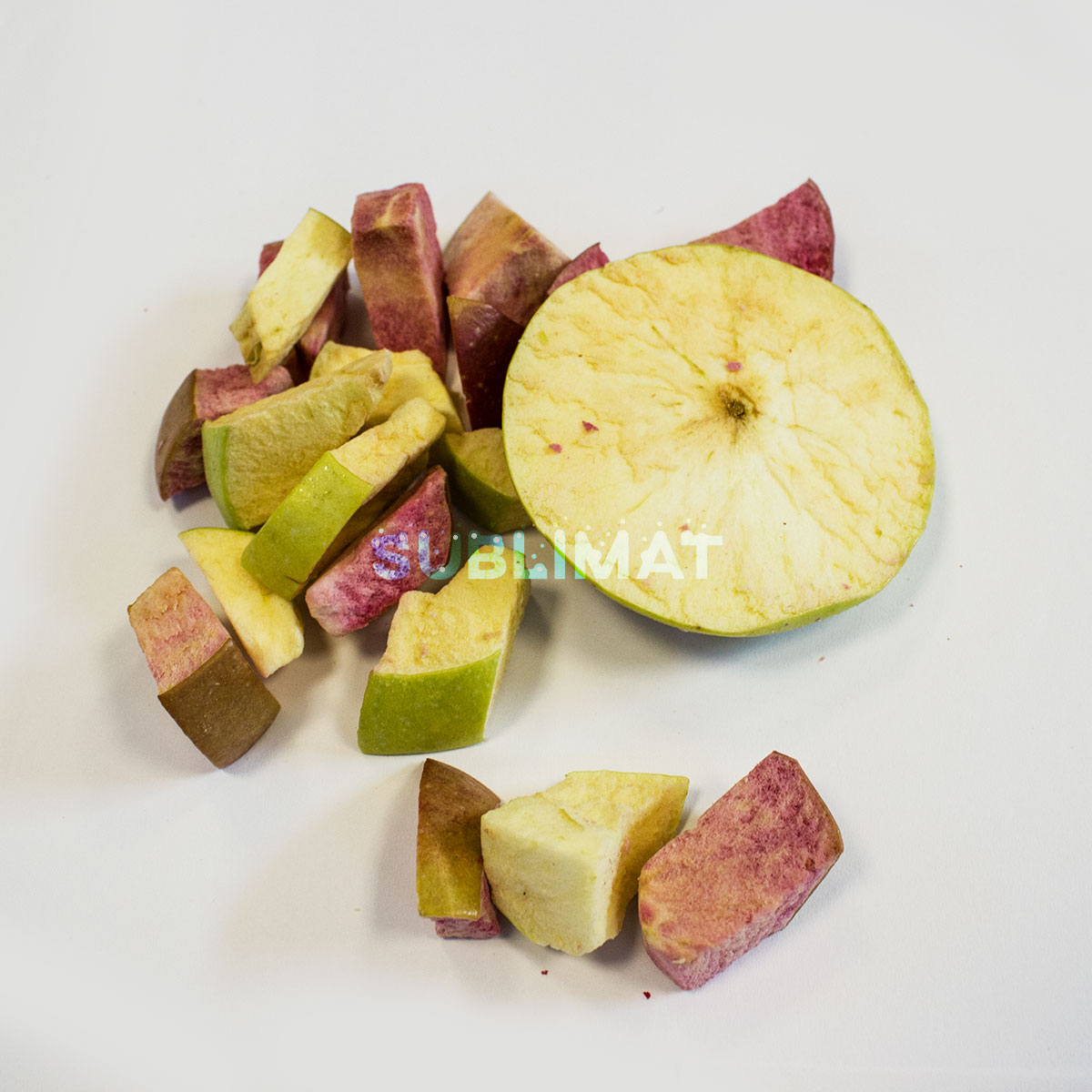 Freeze dried apple mix