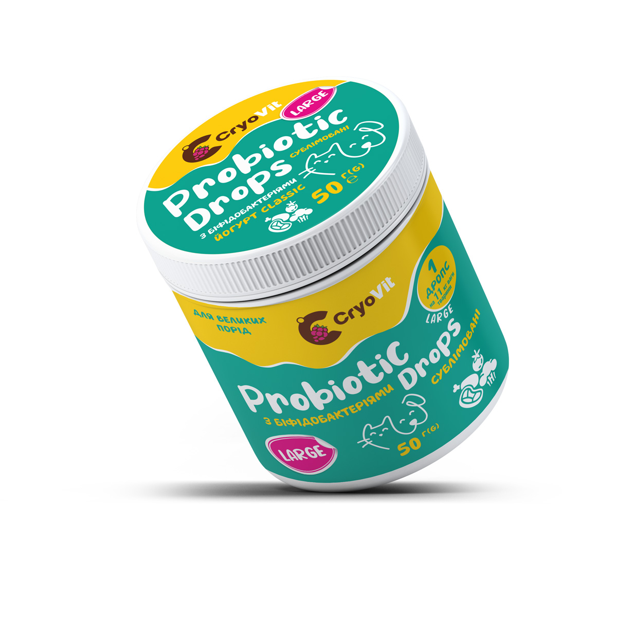 Пробиотики для питомцев крупных пород